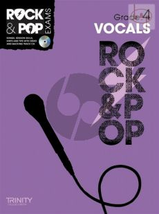 Rock & Pop Exams Vocals Grade 4 (Songs-Session Skills-Hints and Tips)