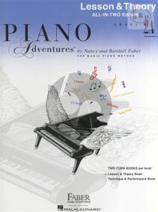 Piano Adventures Lesson & Theory Book level 2A