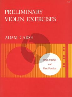 Carse Preliminary Exercises (Open Strings and 1st.Pos.)
