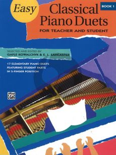 Easy Classical Piano Duets Vol.1