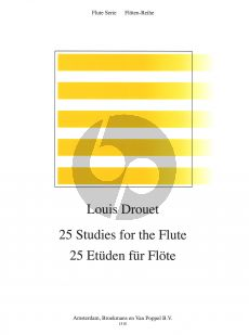 Drouet 25 Studies (incl. Modulation Study on the Blue Bells of Scotland) for Flute