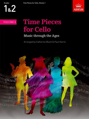 Time Pieces for Cello and Piano Vol. 1 (arr. Catherine Black and Paul Harris) (grades 1 - 2)