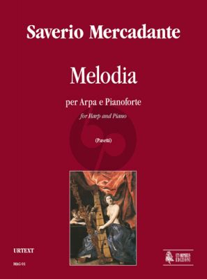 Mercadante Melodia for Harp and Piano (Score/Parts) (Anna Pasetti)