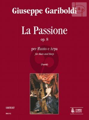 Gariboldi La Passione Op.8 Flute and Harp (Score/Parts) (Anna Pasetti)
