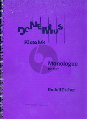 Monologue Flute solo