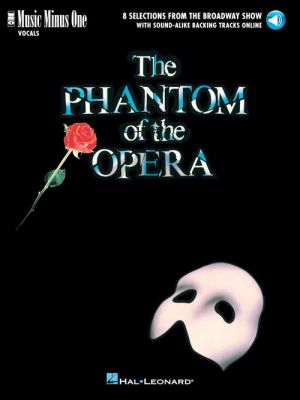 Lloyd Webber The Phantom of the Opera (8 Songs) Voice with Audio online (MMO)