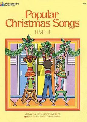 Bastien Popular Christmas Songs Level 4 Piano