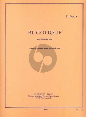 Bozza Bucolique Clarinette et Piano