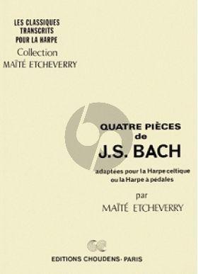 Bach 4 Pieces pour Harpe (Etcheverry)