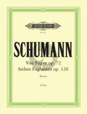 4 Fugen Op.72 & 7 Fughetten Op.126 Klavier