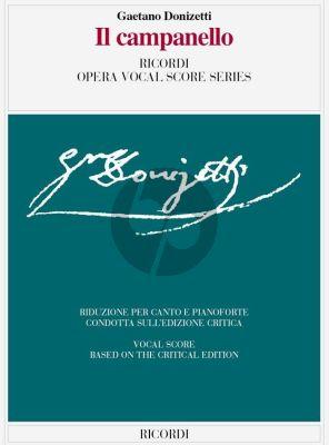 Donizetti Il Campanello Vocal Score (ital.)