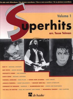 Album Super Hits Vol.1 One or Two Accordions (arr. Tesse Telman)