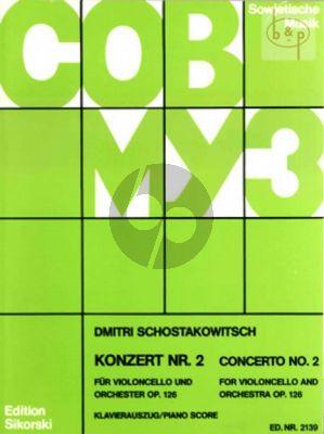 Concerto No.2 Op.126 Violoncello-Orchestra