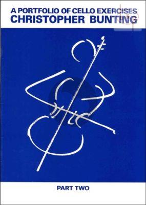 Bunting Portfolio of Cello Exercises Vol.2