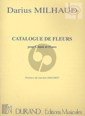 Catalogue de Fleurs