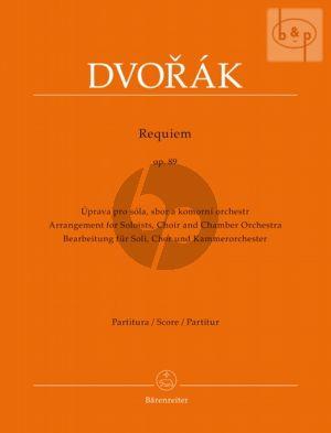Requiem Op.89 (Soli-Choir-Chamber Orch.) (Full Score)