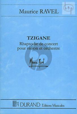 Tzigane (Rhapsodie de Concert)