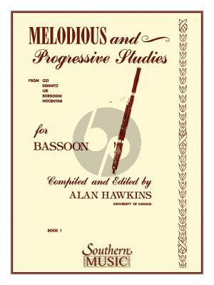 Hawkins Melodious & Progressive Studies Vol. 1 for Bassoon (Grade 1 - 3)
