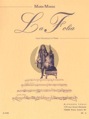 Marais La Folia Violoncelle et Piano (transcr. Paul Bazelaire)