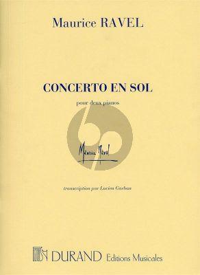 Concerto en sol Piano-Orchestre