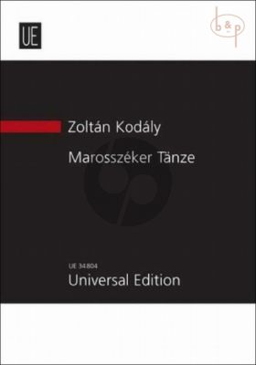 Marosszeker Tanze (1929)