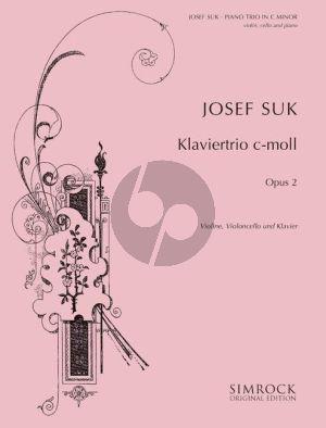 Suk Trio c-moll Op.2 Violin-Violoncello-Piano