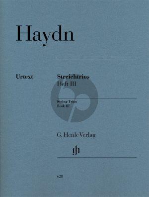 Haydn Streichtrios Vol.3 2 Vi.-Vc. (Stimmen) (Haydn zugeschrieben)