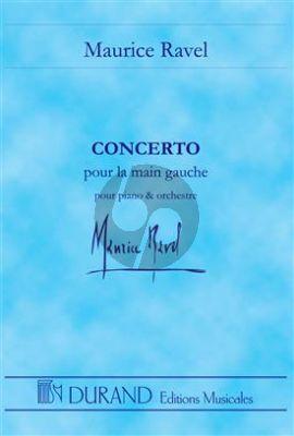 Ravel Piano Concerto Pour La Main Gauche