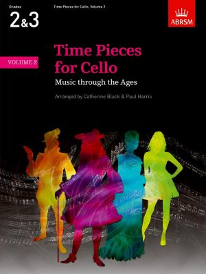 Time Pieces for Cello and Piano Vol. 2 (arr. Catherine Black and Paul Harris) (Grades 2 - 3)