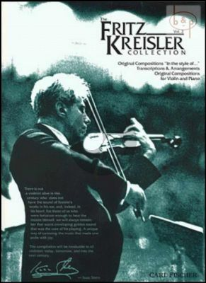 Fritz Kreisler Collection Vol. 2 Violin and Piano