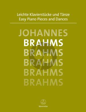 Brahms Leichte Klavierstucke und Tanze (Easy Piano Pieces) (Topel)