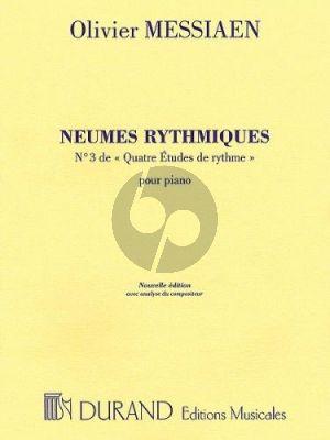 Neumes Rhythmiques pour Piano