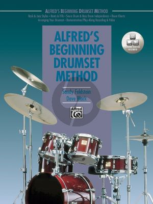 Alfred's Beginning Drumset Method (Book with Video and Audio online)