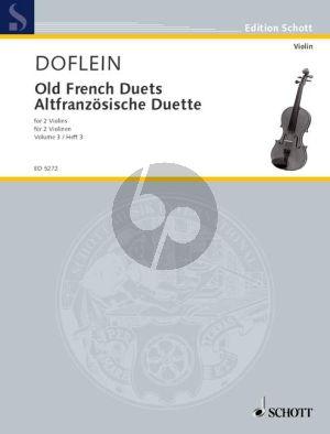 Altfranzosische Duette Vol.3 2 Violinen