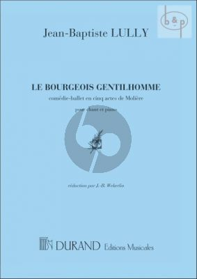Bourgeois Gentilhomme (Comedie-Ballet 5 actes) (Moliere)