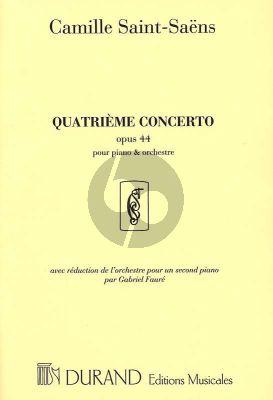 Saint-Saens Concert No. 4 Opus 44 Piano et Orchestre (edition pour 2 Piano's par Gabriel Faure)