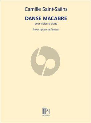 Saint-Saens Danse Macabre Op.40 Violon et Piano (transcription pour par L'Auteur)
