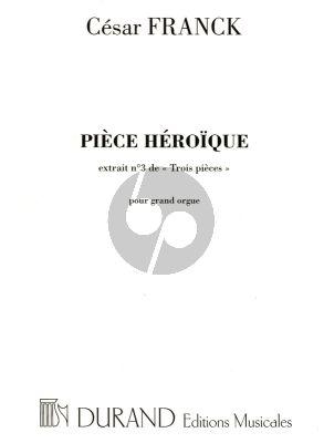 Piece Heroique pour Orgue