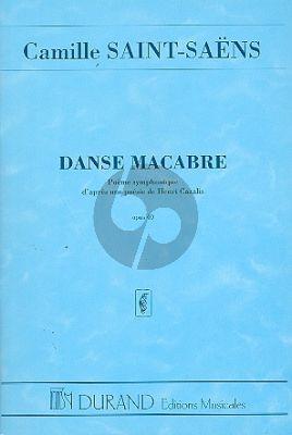 Saint-Saens Danse Macabre Op.40 Study Score