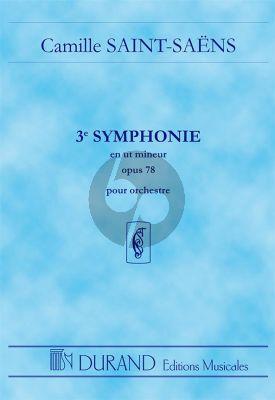Saint-Saens Symphonie No.3 Op.78 Orchestre Partition de Poche