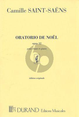 Saint-Saens Oratorio de Noel Op.12 (Soli-Choir-Harp-Organ- Strings) (Vocal Score) (lat.) (Durand)