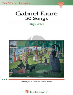 Faure 50 Songs High Voice (french text) (Laura Ward-Richard Walters)
