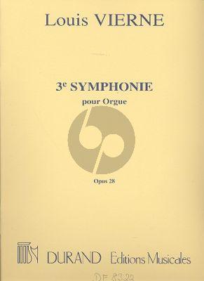 Vierne Symphonie No.3 Op.28 Orgue