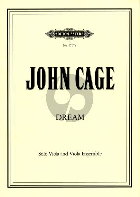 Cage Dream Solo Viola and Viola Ensemble