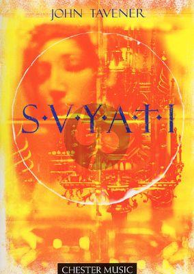 Tavener Svyati SATB with Cello solo