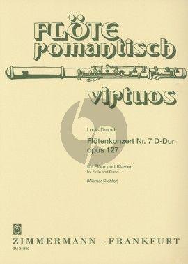 Drouet Konzert No.7 D-dur Opus 127 Flöte-Klavier (Werner Richter)