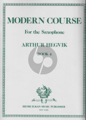 Hegvik Modern Course Vol.4 Saxophone