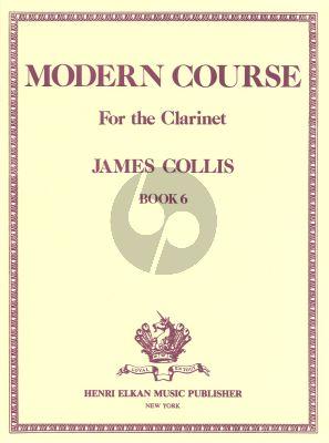 Collis Modern Course Volume 6 Clarinet