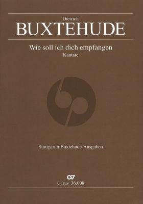Wie soll ich dich empfangen (SSB-Strings-Bassoon -Bc) (Score) (Adventcant) (Stuttg.Buxt.Ausgabe)