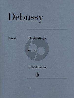 Debussy Klavierstücke (Ernst-Günter Heinemann) (Henle-Urtext)